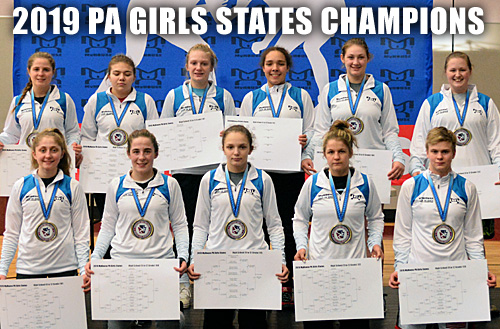 2019 MyHouse PA Girls States champions